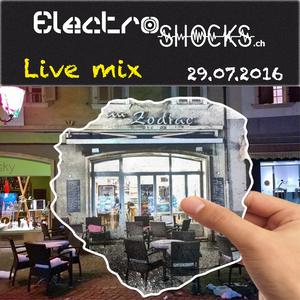 Live mix au Zodiac - 29.07.2016