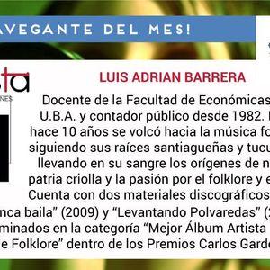 Programa 24 - Navegante del Mes - Luis Barrera