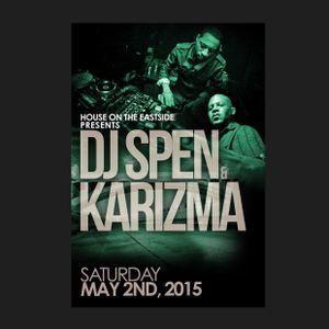 Part 1 Dj Spen and Karizma aka The Deepah Ones 5/2/2015