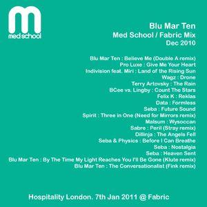 Blu Mar Ten - Med School / Fabric Mix - Dec 2010