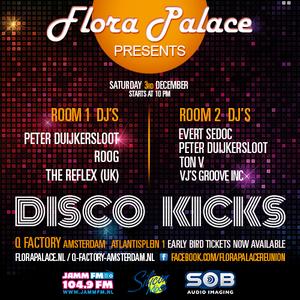 Disco-Kicks 3 dec Q-Factory - Back to the Future # 166