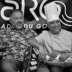 L'Instant Corvic avec Hocine Hadjali, musicien-conteur & Akim des Cuisiniers Solidaires. Rencontre..