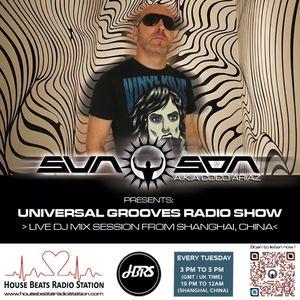 Sun Son AKA Coco Ariaz Presents - Universal Grooves Radio Show #022