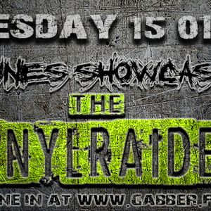 The VINYLRAIDER - NOT EASY TUNES SHOWCASE # 008 ON GABBER.FM 15/01/2014