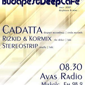 Cadatta live summer 2011 for Budabest Deep Cafe
