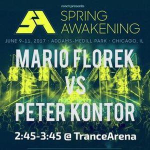 Mario Florek & Peter Kontor  - Live @ SAMF 2017 TranceArena
