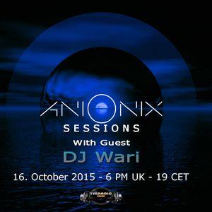 Ani Onix - Ani Onix Sessions -  host mix - October 2015 _ ep. 014 - On TM-Radio & Nube Music Radio