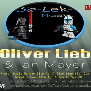 Ian Meyer - Se-Lek-Music Radio mix part 1 April 2016