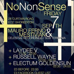 Electum Goldensun Live (NoNonSense 3rd Paty) at Horse & Groom, London on 07/09/12