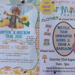 Bampton Castle Play Park - Jumble & Scarecrow Trail