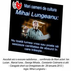 Mari oameni de cultura ai Romaniei ...  Mihai Lungeanu