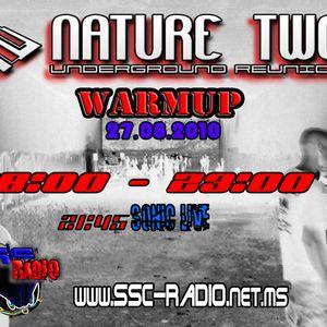 Sonic @ NatureTwo Underground Reunion WarmUp (Live on SSC Radio) [27.08.2010]
