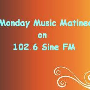 The Sine FM Monday Music Matinee aired 5th November 2012