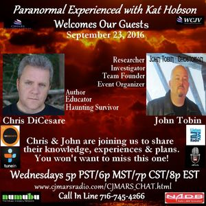 Paranormal Experienced 20150923 Chris DiCesare and John Tobin.mp3(65.4MB)