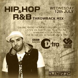 Hip Hop & R&B Throwback Mini mix on BBC Radio 1Xtra