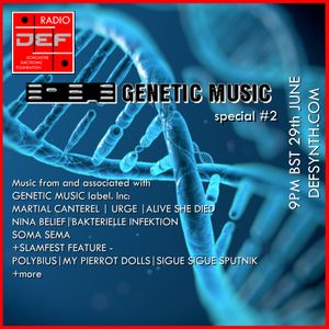 Doncaster Electronic Foundation Radio - 29th June 2015 - Genetic Music Special #2 + Slamfest picks