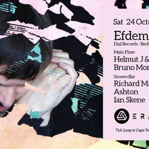 Helmut J & Ryan Sullivan - Opening set Era for Efdemin Oct 2015