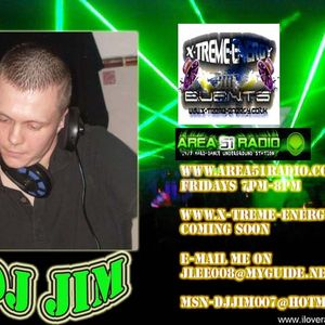 Area51Radio Live 24.03.11 - Skankin' Mix (Old Skool D&B) - DJ Jim