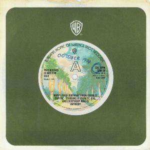 Capital Radio London UK =>>  1st Anniversary Disc  <<= October 1974