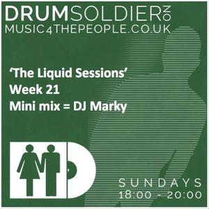 Liquid Sessions 21 (Ft DJ Marky mini mix)