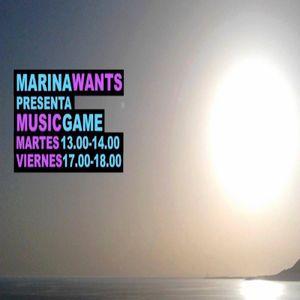 MARINA WANTS @ MUSIC GAME # 9 - Startek Musik radio - last of the season 1 - JUNE 2015