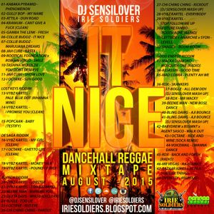 DJ Sensilover - It Nice (Reggae Dancehall 2015 Mix CD)