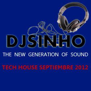 DJSINHO TECH HOUSE SEPT 2012