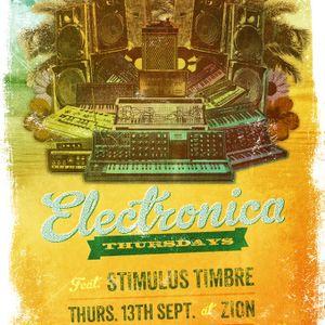 Stimulus Timbre @Zion Electronica Thursdays_Mix