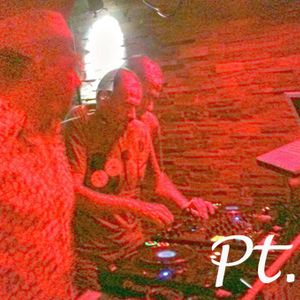 ZaVen & Michel (abstract) b2b @ Mmeltt Cuebar 31-08-2013 pt.1