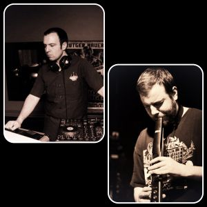 DJ Tony Haze & Sean Weber on Saxophone, Ewi & Vocoder @ Bitter End November 2012 - part 1