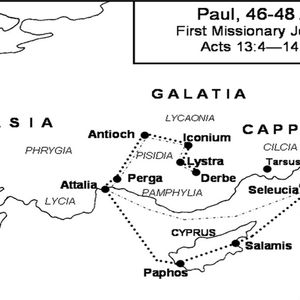 Paul and Barnabas visit Antioch. June 29th 2014