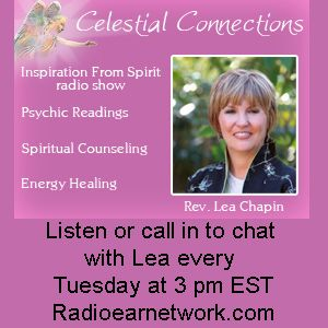 """Love is the New Currency"""" Guest:  Linda Committo on Inspiration From Spirit Host Lea Chapin"""