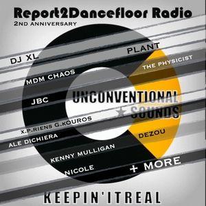 G. Kouros  (GR) on 2nd Anniversary Report2dancefloor Radio