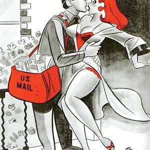 The postman always cums twice shoo!