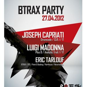 Eric Tarlouf @ Rex club – Btrax party 27 04 2012