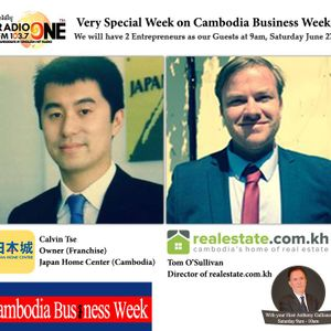 Calvin Tse & Tom O'Sullivan| Cambodia Business Week | June 27, 2015