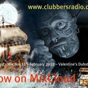tattboy's Mix No. 23 ~ February 2012 ~ Valentine's Dubstep ~ as heard on www.clubbersradio.com