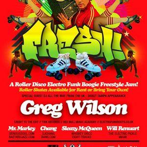 Fresh A Roller Skate Jam w/Greg Wilson (10/28/10)