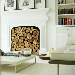no fireplace