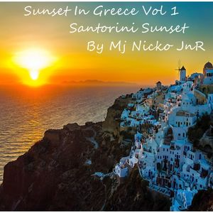 Sunset In Greece@Santorini@Vol 1@by mj nickojnr