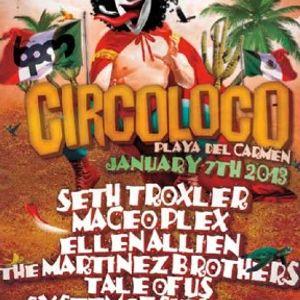 Maceo Plex - Live @ The BPM Festival 2013, Coco Maya Beach Club, México (07.01.2013)