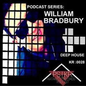 PODCAST SERIES |KR : 0028 | ARTIST : WILLIAM BRADBURY |GENRE : DEEP HOUSE | 2016