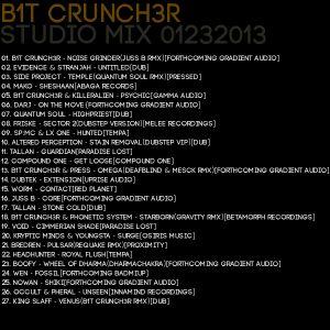 B1t Crunch3r - Studio Mix 01232013
