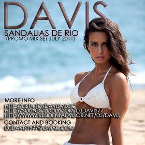 DAVIS - SANDALIAS DE RIO MIXSET (JULY 2011)