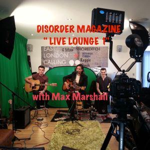 """Live Lounge 1 """" Max Marshall"""""""