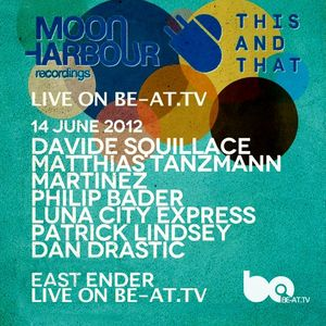 David Squillace & Mathias Tanzzan - Live @ Sonar East Ender Day 1, Moonhoarbour, Espanha (14.06.2012