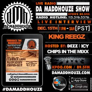 Da Maddhouze sits down with King Reegz on KPOO 89.5 FM