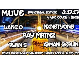 Ryan S - Muve - Broadway Dance Annex - San Antonio - 03.17.2017