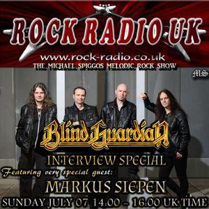 The Michael Spiggos Melodic Rock Show feat. Marcus Siepen (Blind Guardian) 09.07.2017