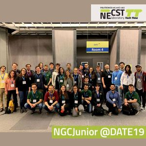 NECST Tech Time II, 18 – NECST Group Conference Junior @ DATE 2019 (1) – 27/03/2019